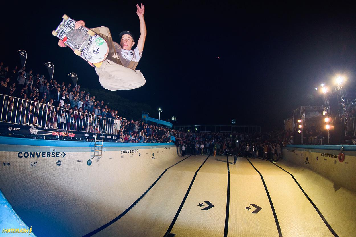 Converse Big Pool Day: um dia de skate em uma piscina de verdade