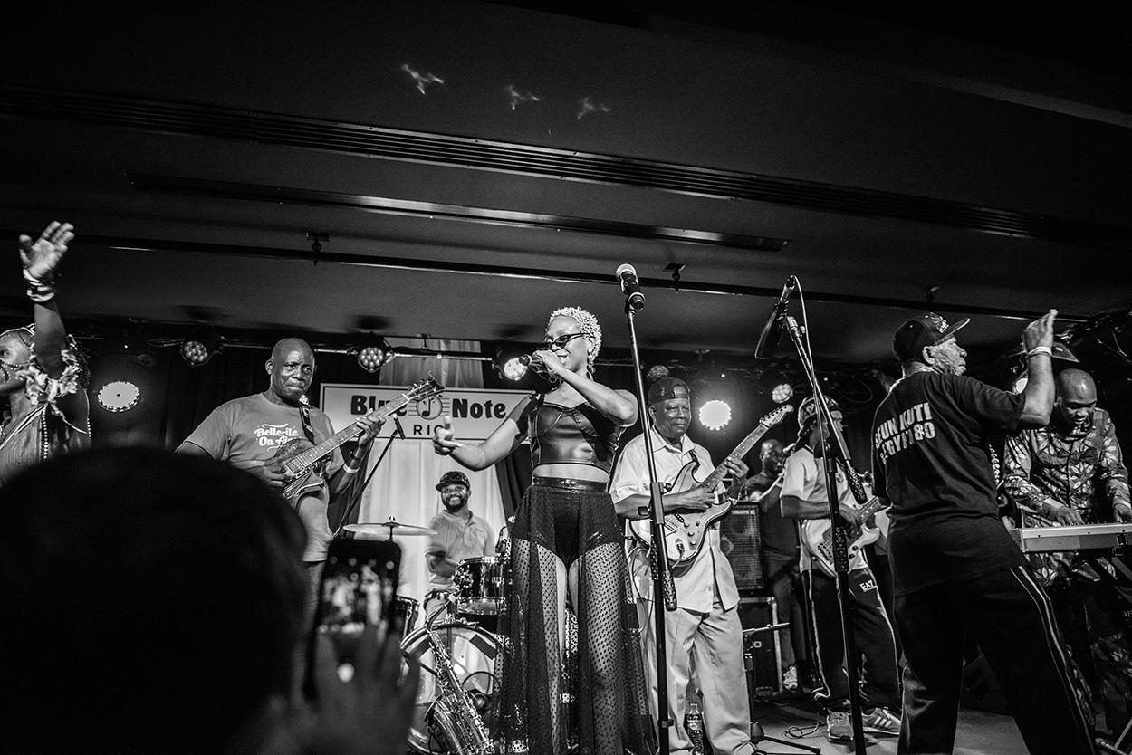 Só Pedrada Musical apresenta: Seun Kuti e Egypt 80 part. Karol Conka