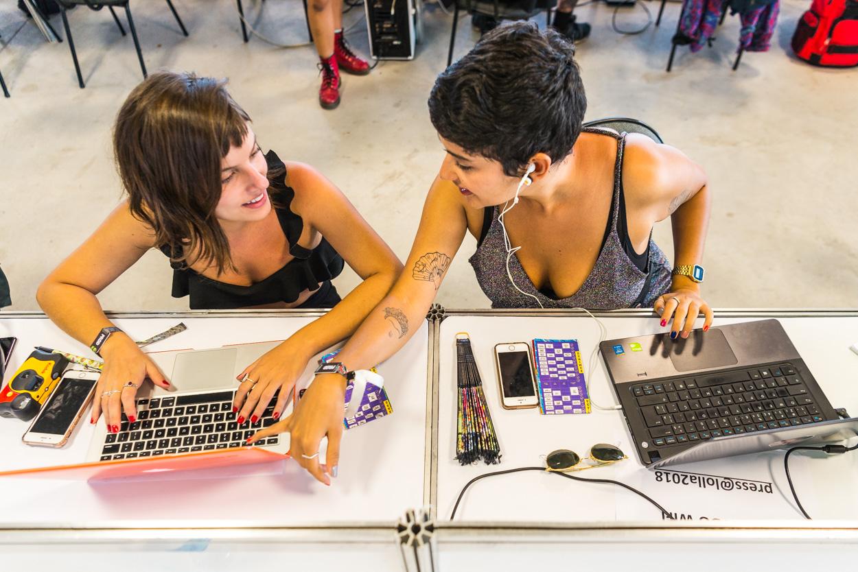 Como funciona a cobertura oficial do Lollapalooza?