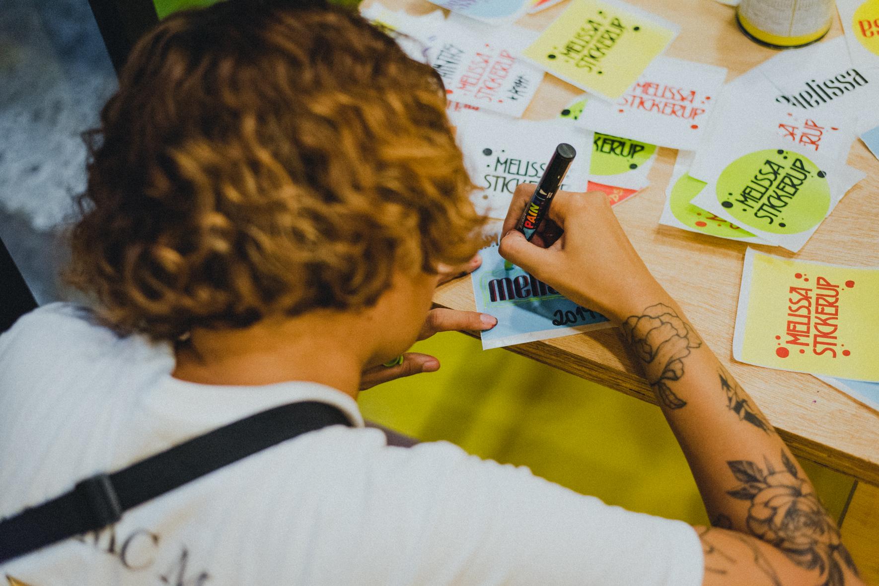 Sticker Up Lab + Melissa