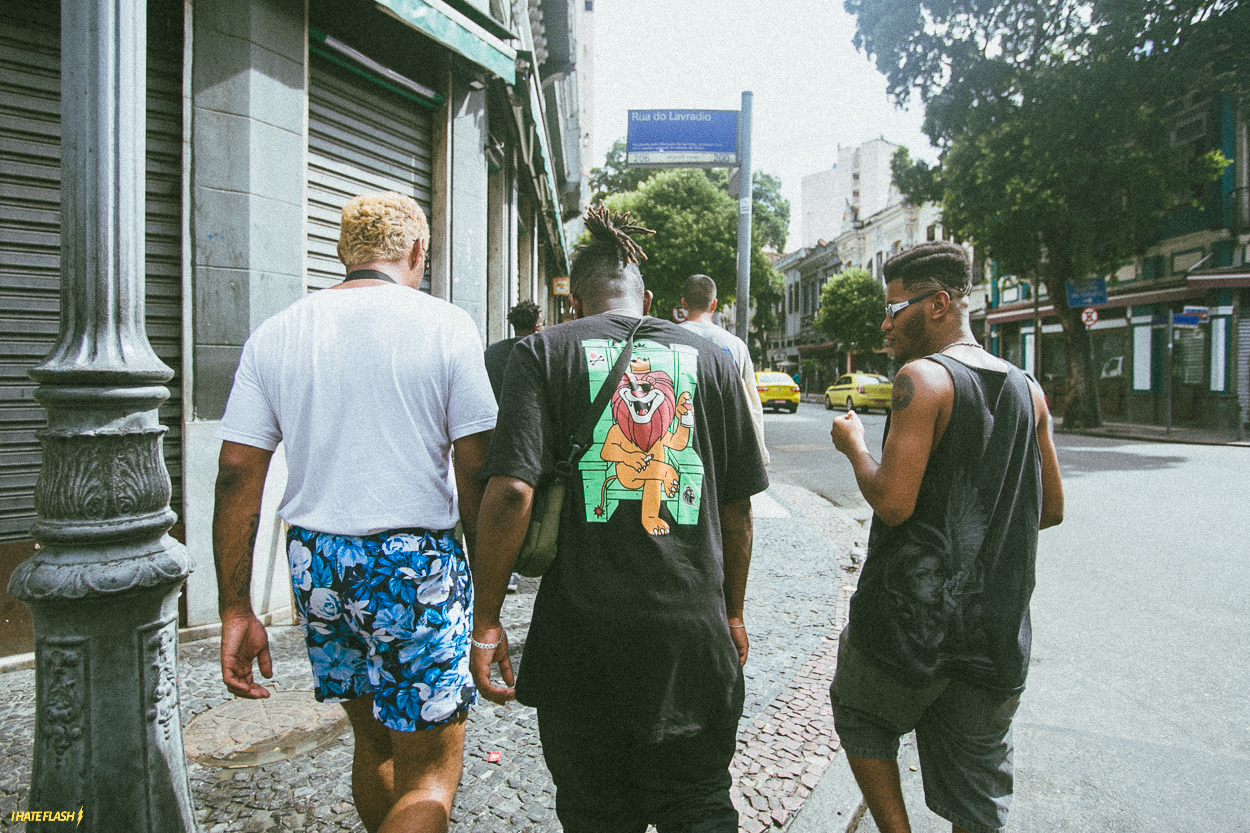Sound Food Gang in Rio Tour