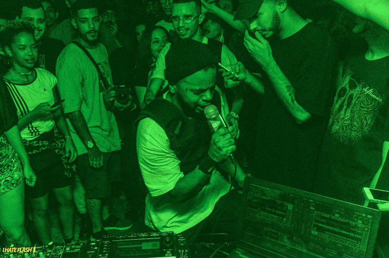 "BRASIL GRIME SHOW: LANÇAMENTO EP ""VAPO"" DO KBRUM"