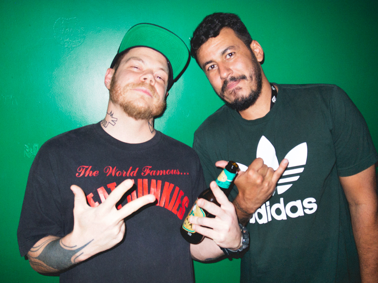 DJ Nuts e Dj Tamenpi no Citylights Hostel