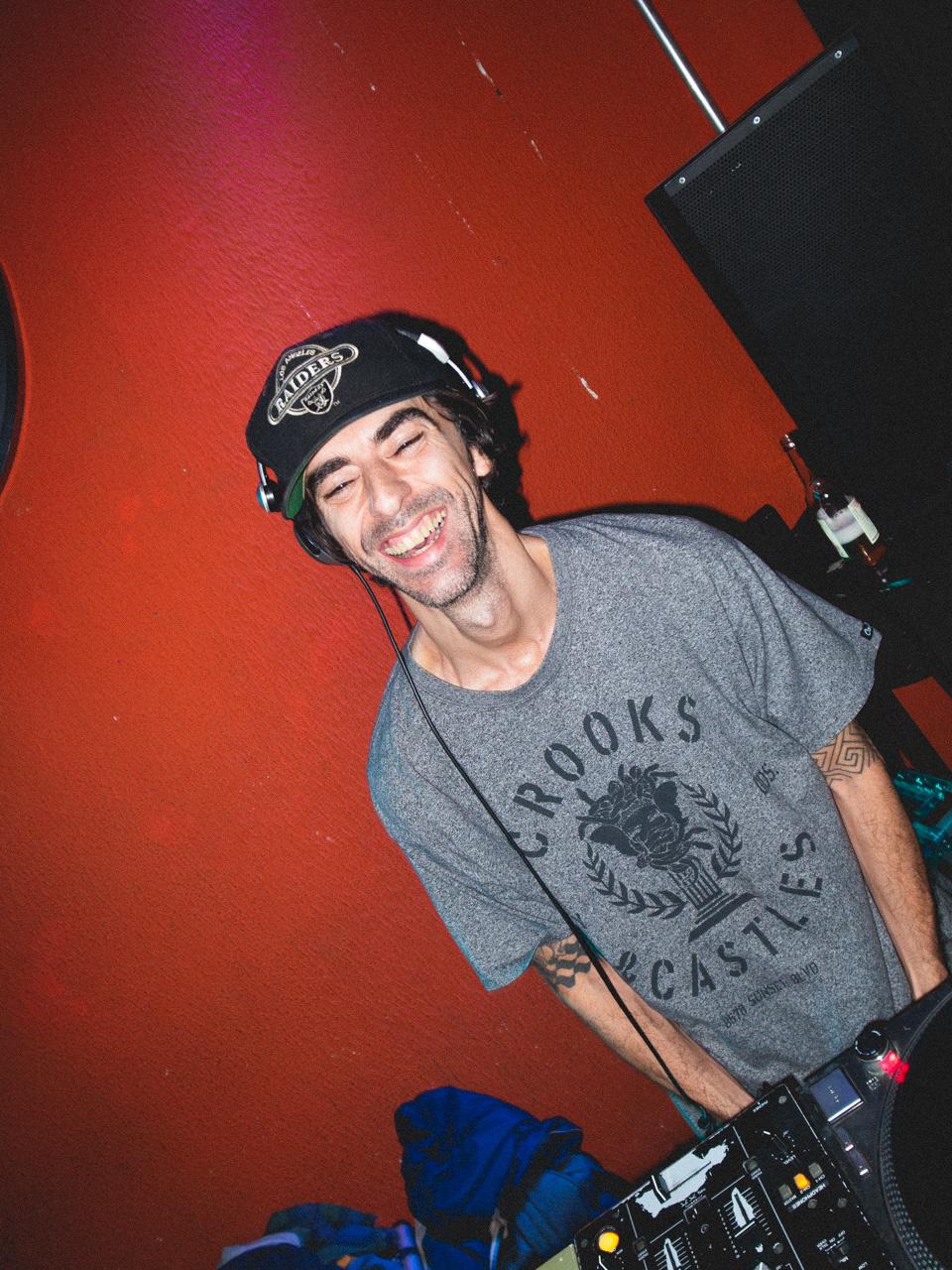 DJ Nuts e Dj Tamenpi no Citylights Hostel
