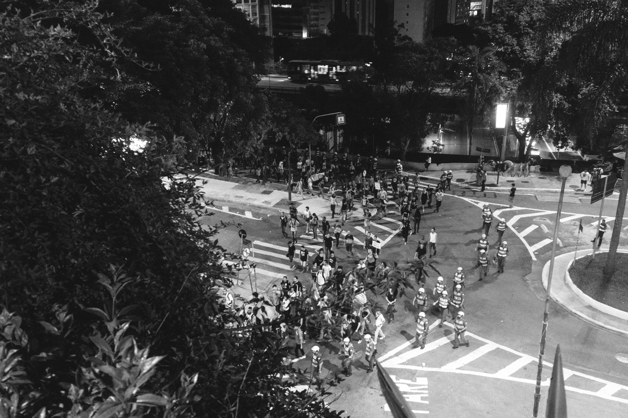Passe Livre - Primeira Manifestação contra o aumento